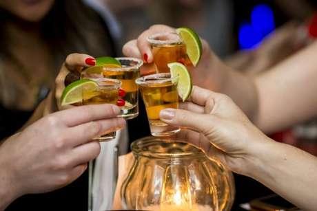Um brinde com tequila