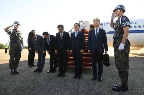 Delegação de Seul se encontra com Kim Jong-un