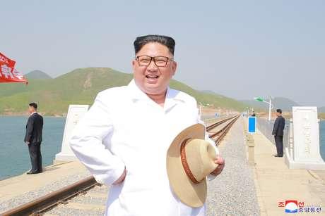 Líder norte-coreano, Kim Jong Un 24/05/2018 KCNA/via REUTERS