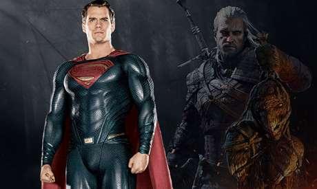 """Superman e Geralt vão ser enfim a mesma """"pessoa""""... Ou pelo menos o mesmo ator!"""