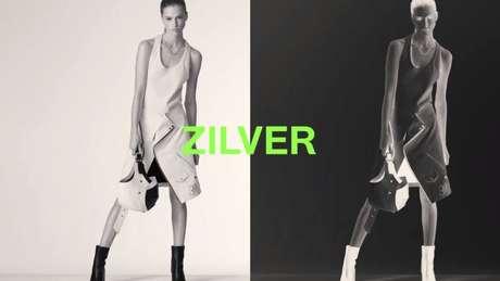 Um dos looks da Zilver, nova marca do estilista Pedro Lourenço focada em sustentabilidade