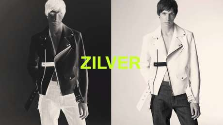 Um dos looks masculinos do novo projeto do estilista: inovação além do design