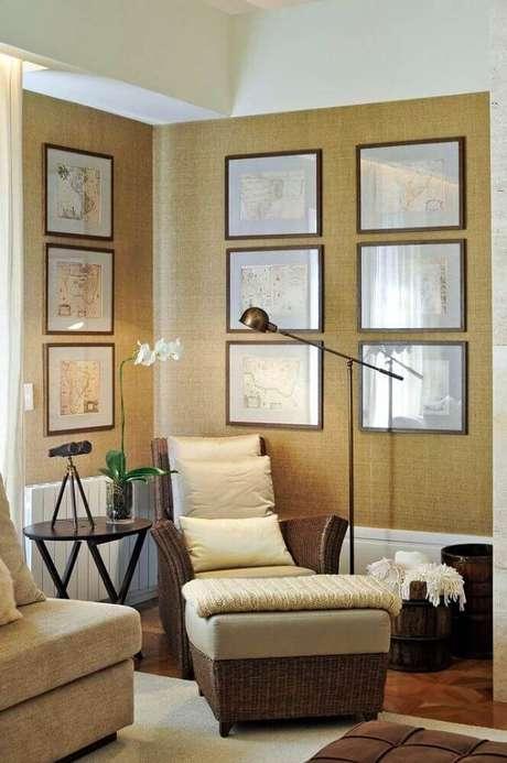 30. Prefira cores claras para a decoração do cantinho da leitura – Foto: Pinterest