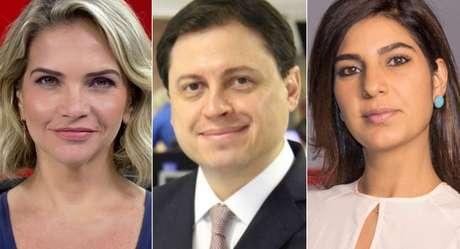 Leila Sterenberg, Gerson Camarotti e Andréia Sadi: discurso afinado contra a violência suscitada pela rivalidade política