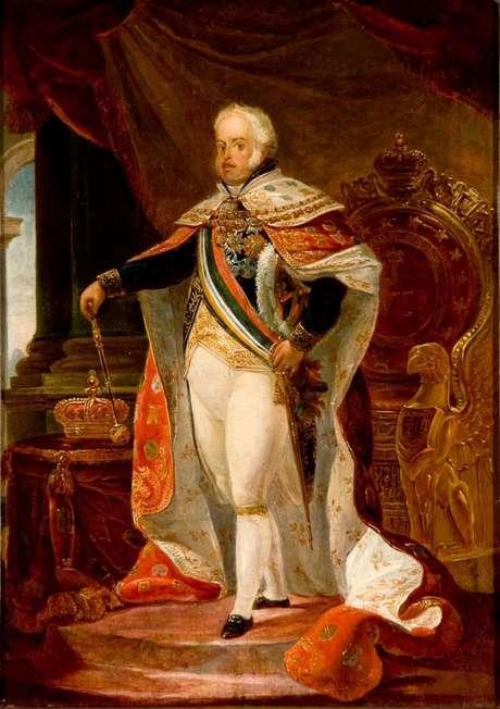 Dom João 6º chegou ao Brasil em 1808