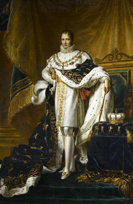 Napoleão Bonaparte forçou rei espanhol Fernando 7º a abdicar do trono em favor de seu irmão, José (mais tarde José 1º, da Espanha, retratado no quadro)