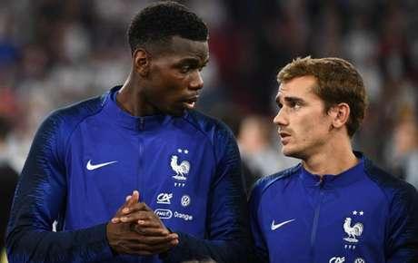 Pogba já conversou com Griezmann sobre o prêmio da Fifa (Foto: Franck Fife / AFP)