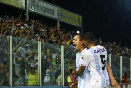 Jogadores do Papão comemoram a vitória (Foto: Divulgação/Paysandu)