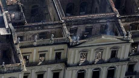 Diretor alertou sobre condições precárias do Museu Nacional há 174 anos, antes mesmo da mudança do acervo para o Palácio Imperial de São Cristóvão (acima)