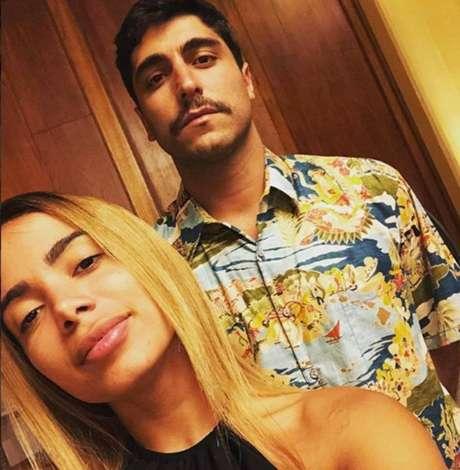 Anitta e Thiago Magalhães.