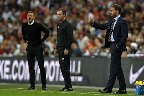 Southgate não conseguiu bater a Espanha de Luis Enrique (Foto: AFP)