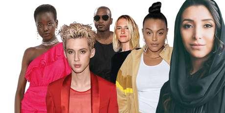 Uma seleção de personagens da BoF500 2018, que em sua sexta edição foca em inovação e diversidade