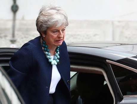 Premiê britânica Theresa May na Downing Street, em Londres 10/09/2018  REUTERS/Hannah McKay