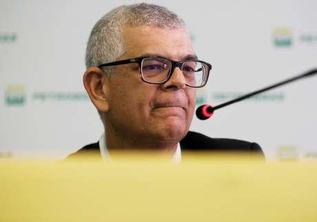 Presidente da Petrobras, Ivan Monteiro, durante coletiva de imprensa em São Paulo 10/09/2018 REUTERS/Nacho Doce