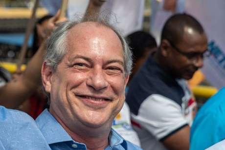 Ciro Gomes durante campanha em Mauá