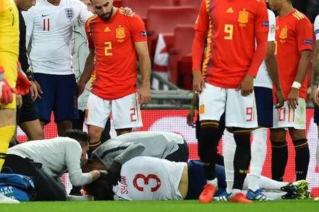Imagem da vitória da Espanha sobre a Inglaterra ... 7ae608c80f194