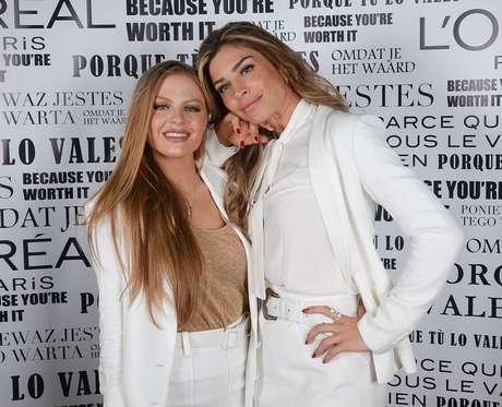 Luiza Sonza e Grazi Massafera (Fotos: Francisco Cepeda/AgNews)