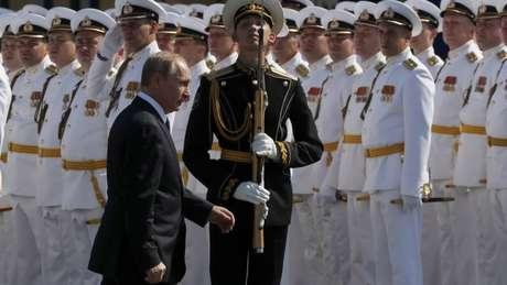 Putin tem feito da modernização militar uma prioridade