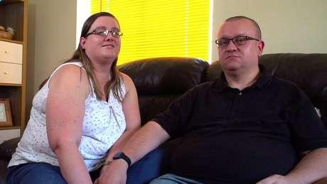 Katie e Craig dizem que levaram um ano e meio para aceitar a impossibilidade de ter filhos sem o esperma de um doador
