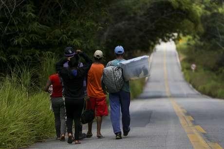 Segundo a Polícia Federal, mais de 127 mil imigrantes já atravessaram a fronteira venezuelana com destino ao Brasil