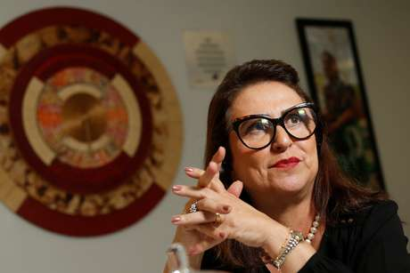 Kátia Abreu concede entrevista à Reuters   16/8/2018   REUTERS/Adriano Machado