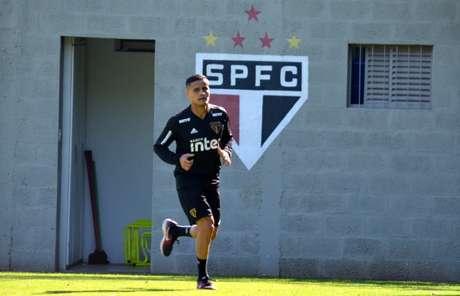 Jogador já fez 21 partidas pelo Tricolor desde a sua contratação, em abril (Érico Leonan/São Paulo FC)