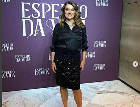 A atriz Patricya Travassos.