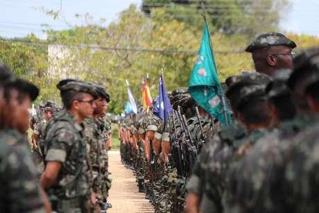 Militares do Exército em Roraima