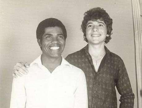 Os cantores João Paulo e Daniel.