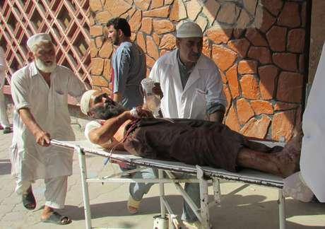 Homem fica ferido após atentado em Nangarhar, no Afeganistão