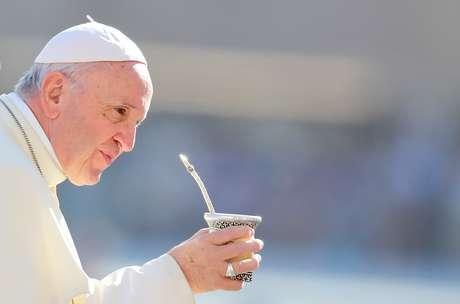 Papa Francisco na Praça de São Pedro, no Vaticano