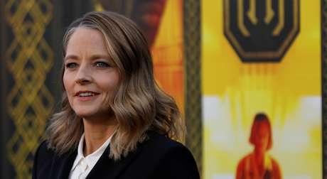 """Jodie Foster em lançamento de """"Hotel Artemis"""" em Los Angeles  19/5/2018    REUTERS/Mario Anzuoni"""