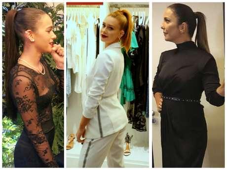 Bruna Marquezine, Marina Ruy Barbosa e Ivete Sangalo (Fotos: Reprodução/Instagram)