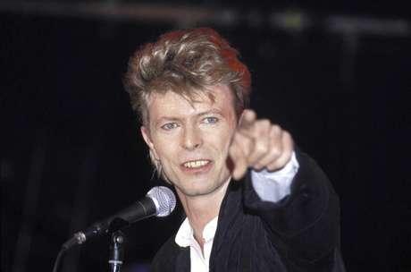 David Bowie durante apresentação em Sydney, na Austrália, em 1987