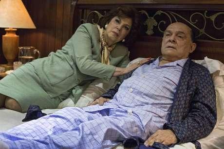 No filme 'O Paciente', Othon Bastos faz Tancredo e Ester Góes, Risoleta