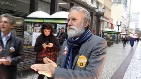 Dr. Rosinha é candidato do PT ao governo do Paraná
