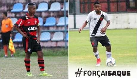 Garoto teve passagens pelas bases de Flamengo e Vasco (Foto: Divulgação)