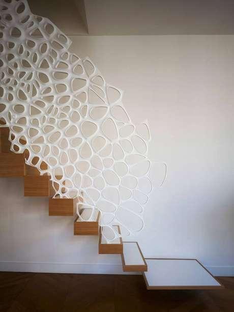 55. Que tal investir em um modelo diferente de guarda-corpo para decorar a sua casa? – Foto: ArchDaily