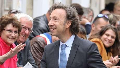 Stéphane Bern é uma das personalidades mais conhecidas na França