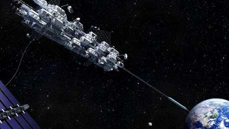 Japão pretende construir um elevador da Terra ao espaço, capaz de transportar 30 pessoas em uma espécie de contêiner em formato oval