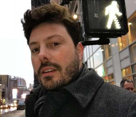 Danilo Gentili é apresentador no SBT.
