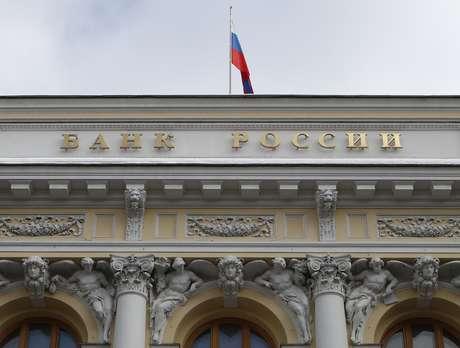Prédio do banco central da Rússia, em Moscou 22/02/2018 REUTERS/Sergei Karpukhin
