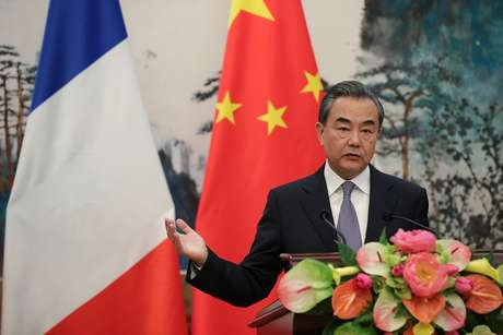 Conselheiro de Estado chinês, Wang Yi 13/09/2018  Lintao Zhang/Pool via Reuters