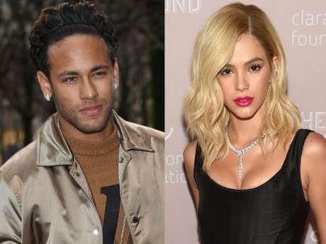 Neymar se assusta ao ver Bruna Marquezine de cabelo loiro: 'Eita p*'