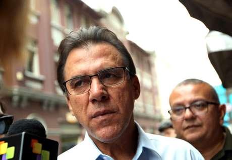 O candidato a governador de São Paulo pelo PT, Luiz Marinho