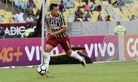 Marlon foi titular durante boa parte da temporada 2017 (Foto: Mailson Santana/Fluminense F.C.)