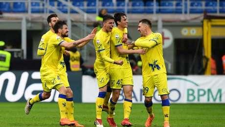 O Chievo é o lanterna do Campeonato Italiano, com -2 pontos (Foto: Miguel Medina/AFP)