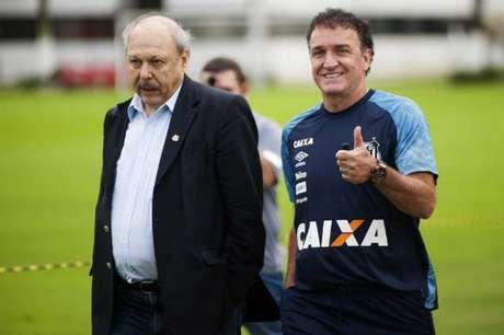 Presidente tem três nomes em mente para executivo de futebol e conta com apoio de Cuca (Foto: Ivan Storti)