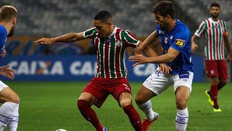 Gilberto seguirá sendo desfalque no Fluminense (Foto: Fernando Michel)