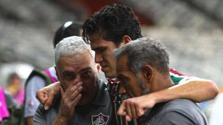 Pedro se machucou no duelo contra o Cruzeiro (Foto: Fernando Michel)